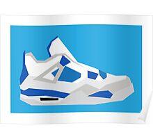 AJ4 - Minimal Sneaker Poster