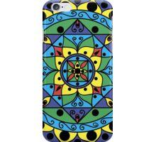 multicolored mandala iPhone Case/Skin