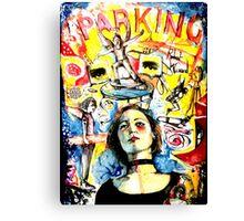 """Greatest Hits Vol 9....The Buzz Kicks""  Canvas Print"