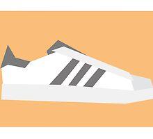 Superstar - Minimal Sneaker by lomoco