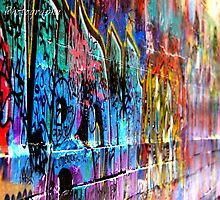 Graffiti Wall  by SavageXPhotos