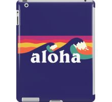 Aloha - waves iPad Case/Skin