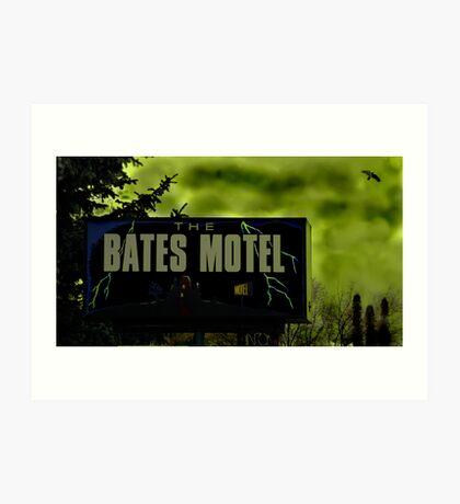 Bate's Motel Art Print
