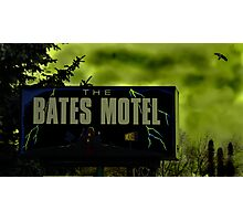 Bate's Motel Photographic Print