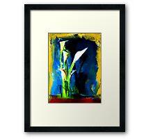 Callas Framed Print