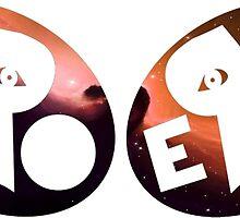 PRO ERA Purple and Orange Nebula by Telic