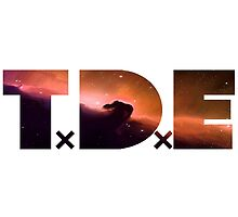 TDE Purple and Orange Nebula by Telic