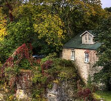 Autumn in a village by HelenN