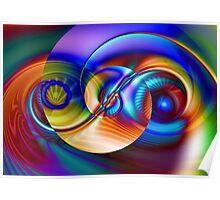 Vortex Spiral Poster