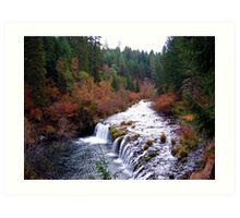 Butte Falls October 31, 2006  Fall Colors Art Print