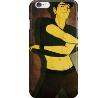 Tadashi Hamada - STRIPTEASE iPhone Case/Skin