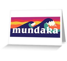 Mundaka Greeting Card