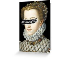 Elisabeth of Austria, Queen of France Greeting Card