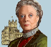 Lady Violet Crawley, Dowager Countess - Downton Abbey by Everett Day