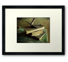 Humanity in Print Framed Print