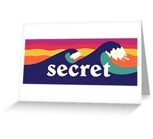 Secret Spot Greeting Card