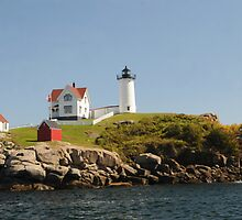 Nubble Lighthouse by Kathleen Struckle