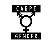 Carpe Gender Photographic Print