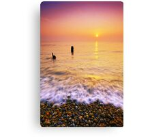 Aldeburgh Beach Suffolk 10. Canvas Print