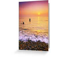 Aldeburgh Beach Suffolk 10. Greeting Card