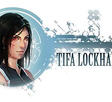 Tifa Portrait by NickSilvaArt