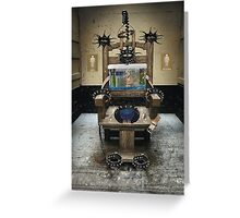 Electric-Toilet-Training Greeting Card