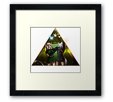 Ocarina of Awesome! Framed Print