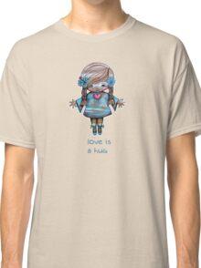 Love is a Hug Tshirt Classic T-Shirt