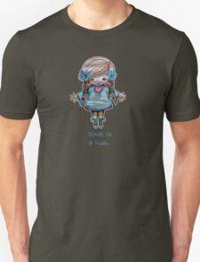 Love is a Hug Tshirt Unisex T-Shirt
