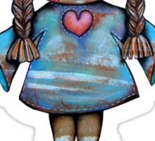 Love is a Hug Tshirt Sticker