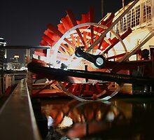 Mike Fink Paddlewheeler by noffi