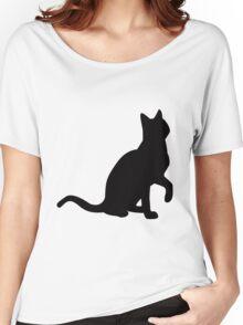 cat tee Women's Relaxed Fit T-Shirt