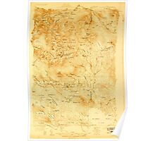 Maine USGS Historical Map Katahdin 807529 1927 48000 Poster