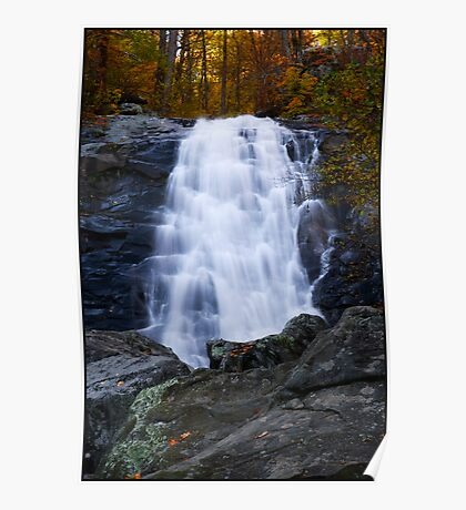 Another Falls along the White Oak Trail. Poster