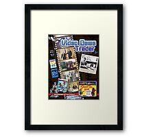 Video Game Trader #32 (Spring 2015) Cover  Framed Print