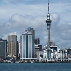 Auckland from the Bay by spinwych