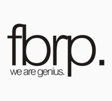 Men of Genius! by FBRP