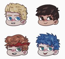 5SOS Faces by mareflares