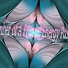 A Fractal Energy Passion Banner by Heather Payson