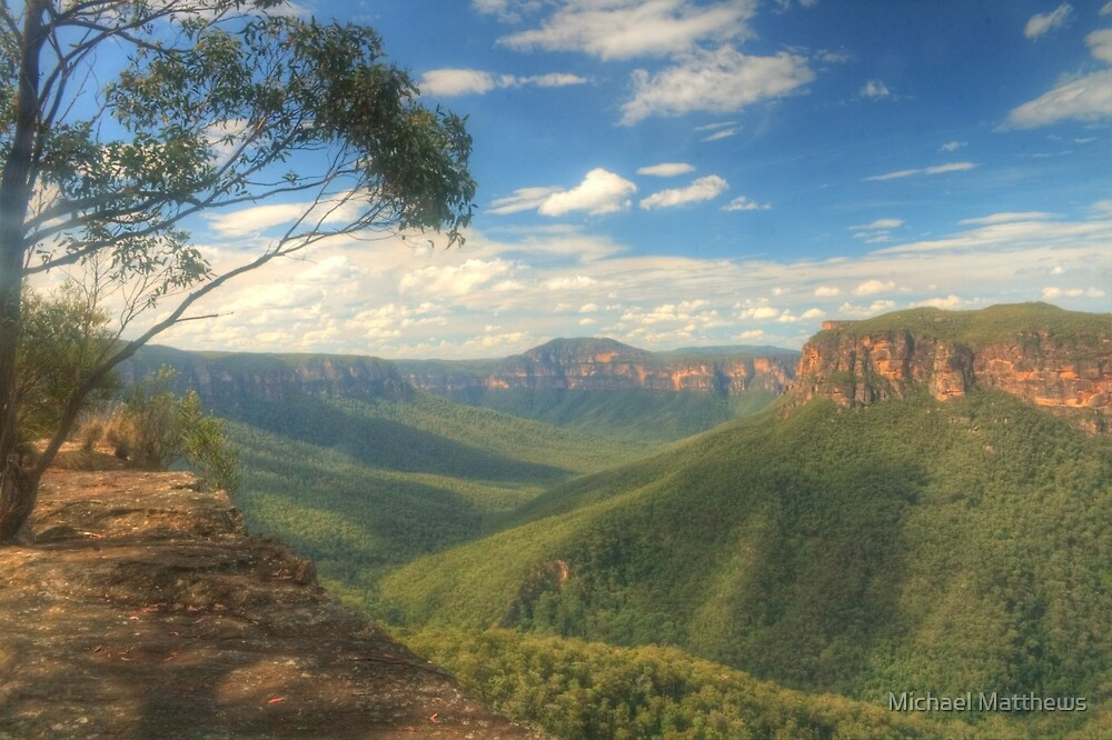 Grose Valley Vista by Michael Matthews