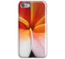 Pink plumeria #3, Big Island, Hawaii iPhone Case/Skin