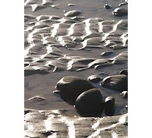 waving sand Photographic Print