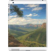 Grose Valley Vista iPad Case/Skin