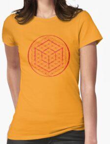 Tesseract & Flower of Life  T-Shirt