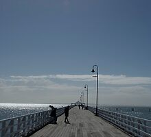 Sandgate Pier by Nathan Russell