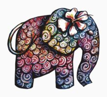 Tattoo Elephant TShirt Kids Clothes