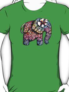 Tattoo Elephant TShirt T-Shirt
