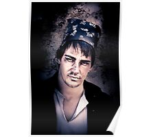 Scary Pirate Portrait Poster