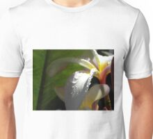 White plumeria #3, Big Island, Hawaii Unisex T-Shirt