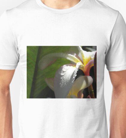 White plumeria #3, Big Island, Hawaii Unisex T-Shirt